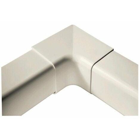 Angle 90° pour goulotte de climatisation de 80mm