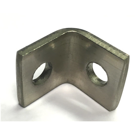Angle Bracket - 20x3 mm T304 (A2) Stainless Steel 7 mm holes