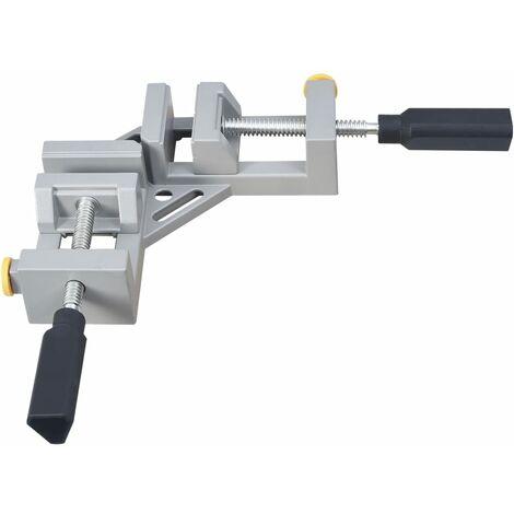 Angle Clamp Double Handle 95 mm Aluminium