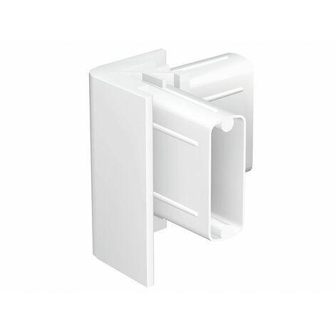 Angle de finition Cimaise Click Rail - Blanc (Peut être peint)