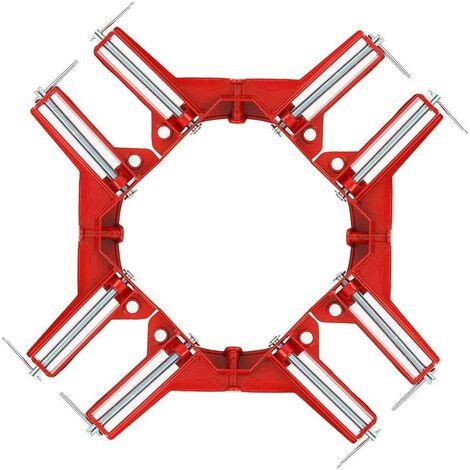 Angle droit pour la fabrication de cadres pour cadres de porte-outils pour menuiserie (90 Degree 75mm / 3 inch)