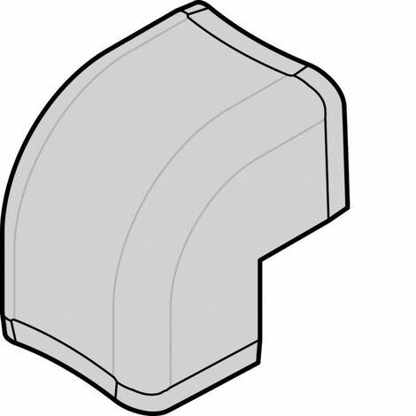 Angle extérieur pCLM75125 p75mm h125mm IK08-IK10 PVC rigide RAL9010 blanc paloma (CLM751253)