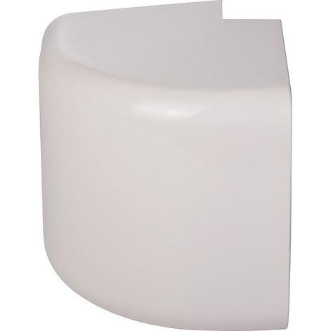 Angle extérieur plastique rigide beige angle (°) 90