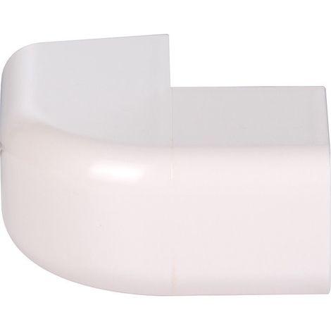 Angle extérieur plastique rigide beige Largeur goulotte (mm) 25