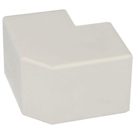 Angle extérieur pour goulotte PVC blanc 40 x 40 mm KOPOS