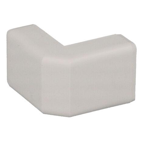 Angle extérieur pour moulure PVC blanche 20 x 10 mm KOPOS