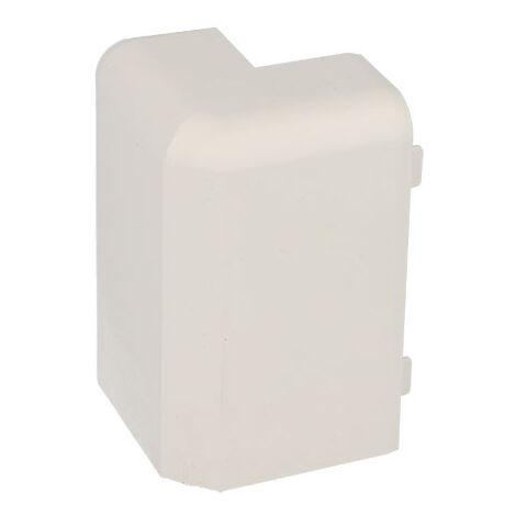 """main image of """"Angle extérieur pour plinthe PVC blanche 80 x 25 mm"""""""