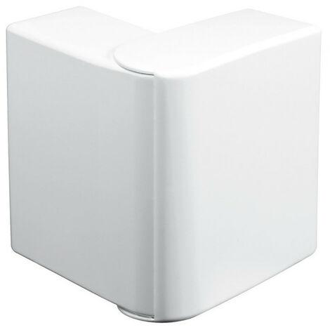 Angle extérieur variable 60-120° pour goulotte d'installation Logix 45, Logix Universel et PCABS ZH 130x50mm blanc Artic (48008)