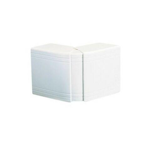 Angle extérieur variable NEAV - Pour goulotte 25x30mm - Blanc