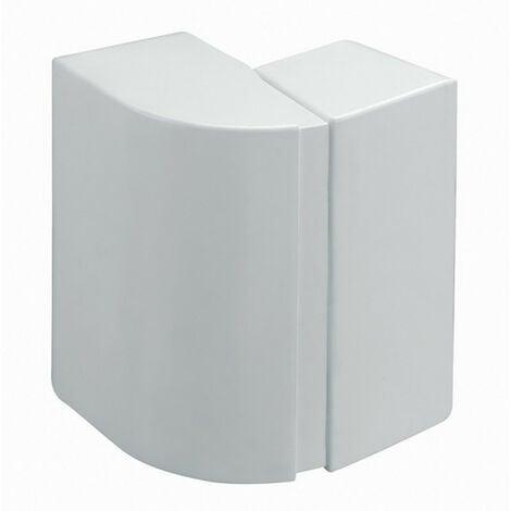 Angle extérieur variable pour goulotte de distribution Viadis et goulotte d'installation PCABS ZH 60x40mm blanc Artic (16362)