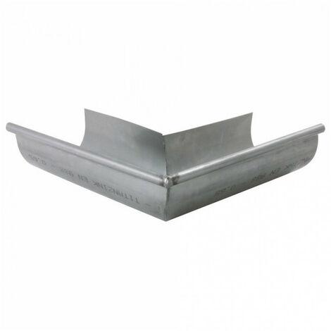 Angle extérieur zinc - gris - dév.33cm SCOVER