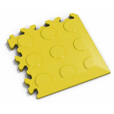 "Angle Fortelock ""Pastille Jaune"" - 14 x 14 cm"