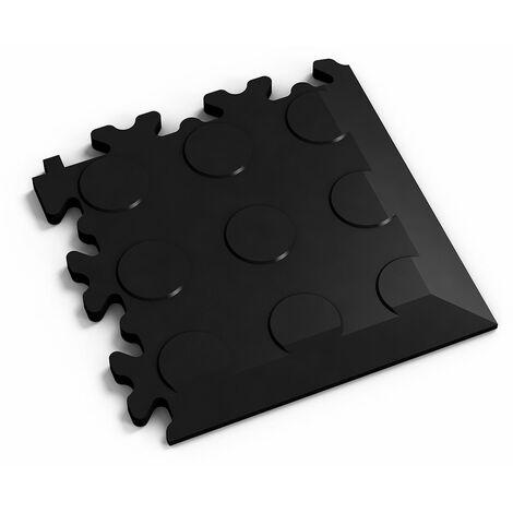 """Angle Fortelock """"Pastille Noir"""" - 14 x 14 cm"""