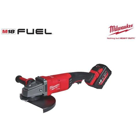 Angle grinder 230mm MILWAUKEE FUEL M18 FLAG230XPDB-121C - 1 battery 18V 12.0 Ah - 1 charger 4933464115