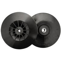 Angle Grinder Pads - Black Soft for Curved Surfaces