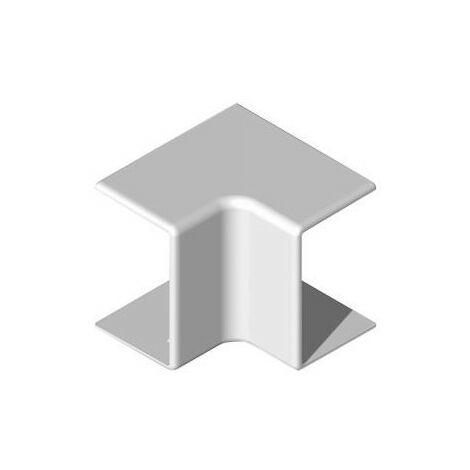 Angle intérieur 90° NIA - Pour goulotte 40x25mm - Blanc