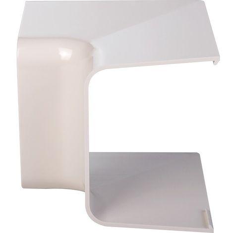 Angle intérieur 90° plastique rigide beige Largeur goulotte (mm) 110