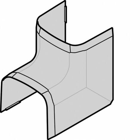 Angle intérieur p CLM30035 p30mm h35mm IK08-IK10 PVC rigide RAL9010 blanc paloma (CLM300354)