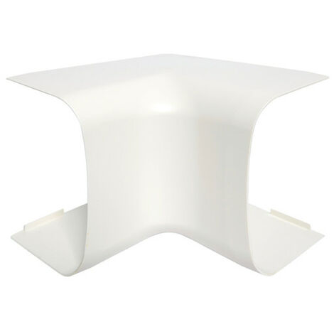 Angle intérieur p CLM65090 p65mm h90mm IK08-IK10 PVC rigide RAL9010 blanc paloma (CLM650904)