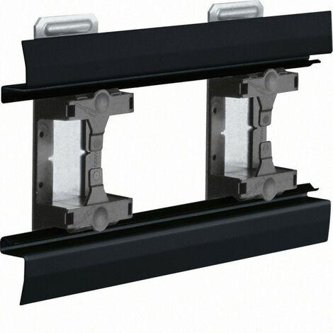 Angle intérieur pour BKIS épais 25mm simple hauteur acier RAL 9011 noir (BKIS251304E9011)