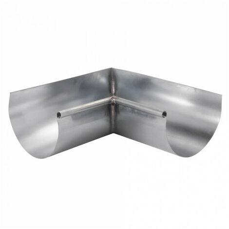 Angle intérieur zinc - gris - dév.33cm SCOVER