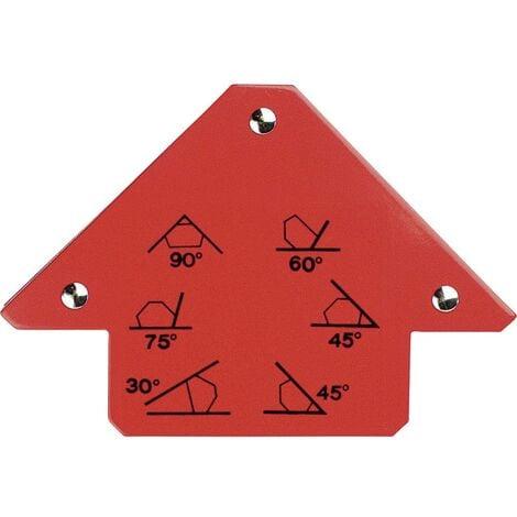 Angle magnétique (30 / 45 / 60 / 75 / 90º)