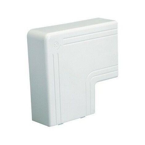 Angle plat NPAN - Pour goulotte 150x60mm - Blanc