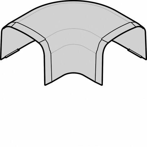 Angle plat p CLM75125 p 75mm h 125mm IK08-IK10 PVC rigide RAL9010 blanc paloma (CLM751255)