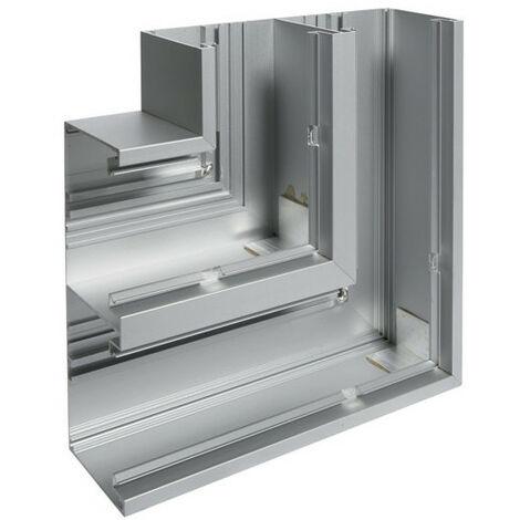 Angle plat pour BRAP80200 h 200mm x p 80mm anodisé naturel (L8085ELN)