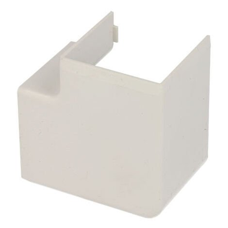 Angle plat pour goulotte PVC blanc 40 x 40 mm KOPOS