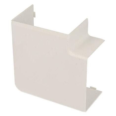 Angle plat pour goulotte PVC blanc 60 x 40 mm KOPOS
