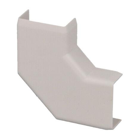 Angle plat pour moulure PVC blanche 20 x 10 mm KOPOS