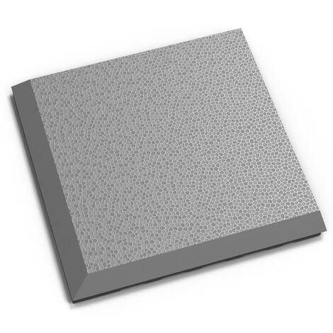 """Angle PVC Garage Fortelock à joints invisibles 2030 """"Gris C"""" - 14 x 14 cm"""