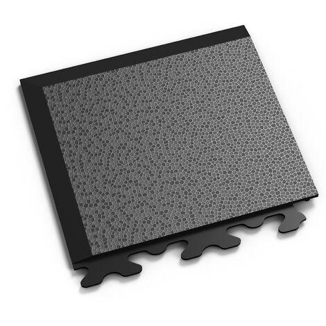 """Angle PVC Garage Fortelock à joints invisibles 2030 """"Noir A"""" - 14 x 14 cm"""