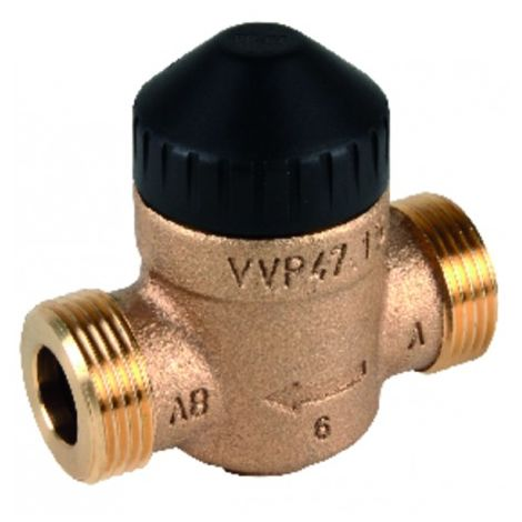 Angle-seat valve std pn16 2v dn15 kvs 2.5 - SIEMENS : VVP47.15-2.5