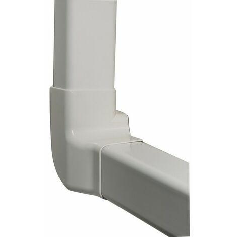 Angle vertical droit blanc pur 9010