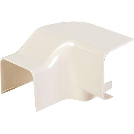 Angle vertical plastique rigide beige Sens de montage Droit