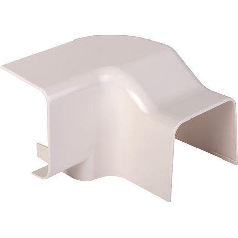 Angle vertical plastique rigide beige Sens de montage Gauche