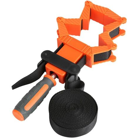 """main image of """"Angle vise Wood Strap Adjustable Multifunction Clamp Transformation Wood Clamp Jaws ratchet angle adjustment Tensioner for Frames with Strap 4 m"""""""