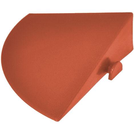 Angolo a scivolo in PP colore mattone per rampe modulabile 03ANMA