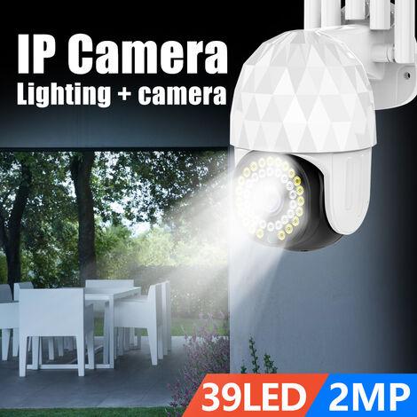 ANGOOD 1080P PTZ caméra IP 2MP Wifi 39LED lumière extérieure caméra de sécurité à domicile Version nocturne Surveillance Audio vidéo maison intelligente
