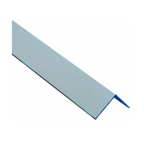 angulo aluminio plata adhesivo 15x15x2.70
