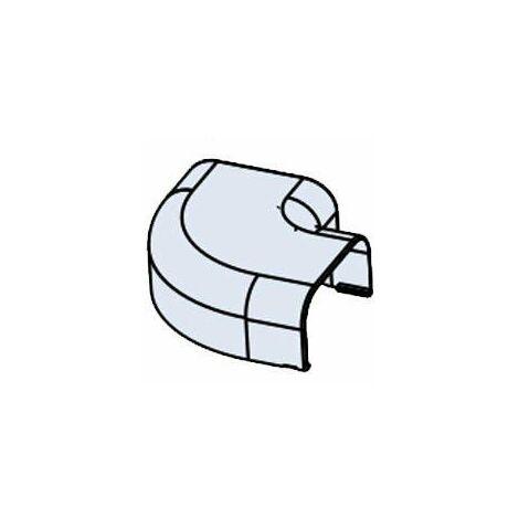 Ángulo plano para canaleta blanca libre de halógenos