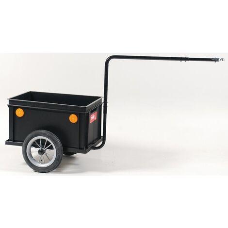 Anhänger Mini Boy m. Kupplung Kunststoff, schwarz Roland
