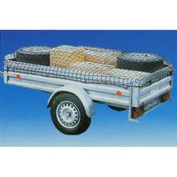 Anhänger Sicherungsnetz Anhängernetz Ladungssicherung Gepäcknetz dehnbar bis 3x2m Netz Ladungssicherungsnetz