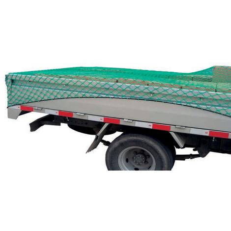 Anhängernetz 3 x 1,6m mit Gummiseil dehnbar Containernetz Ladungssicherungsnetz