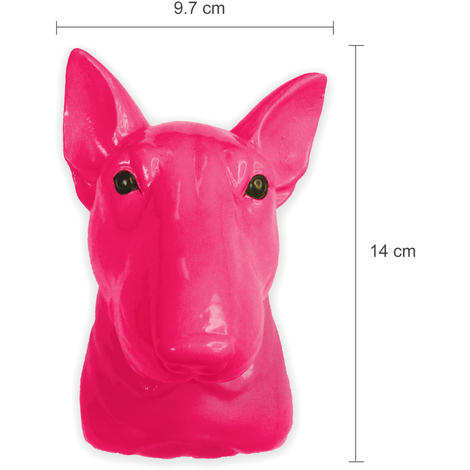 Animal Coat Hook - Dog - Pink