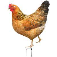 Animal de la ferme décoratif sur pic Cochon