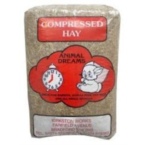 Animal Dreams Compressed Hay Bale (1.5kg) (May Vary)