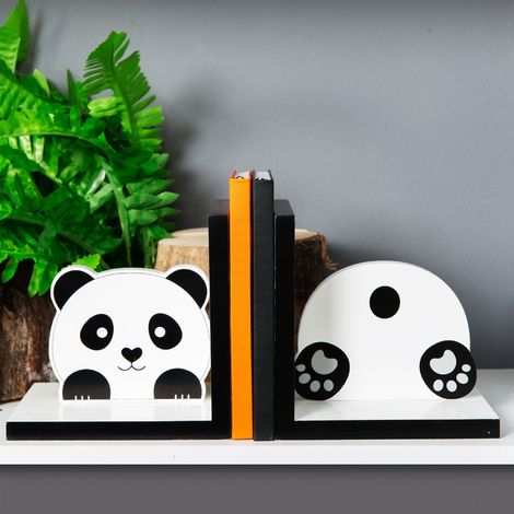 Animal Friends Bookends - Panda